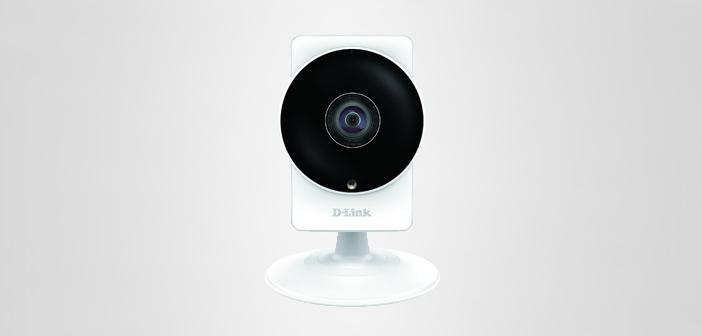 Neue Überwachungskamera: D-Link DCS-8200LH mit 180 Grad Objektiv und Ifttt-Unterstützung