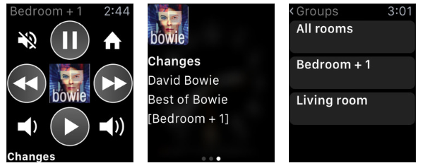 Sonos auf der Apple Watch
