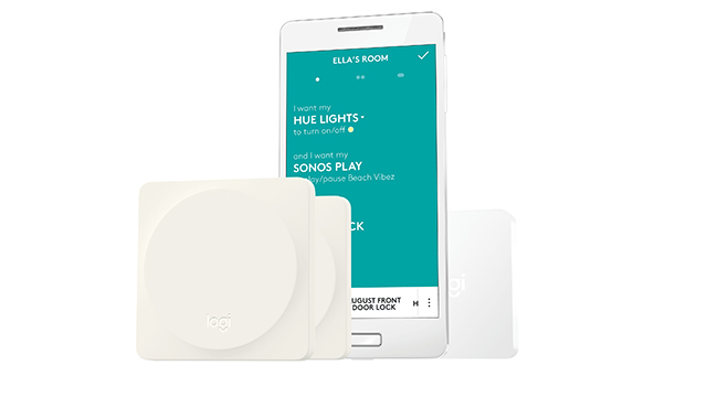 pop homeswitch logitech stellt einen schalter f r das smart home vor housecontrollers. Black Bedroom Furniture Sets. Home Design Ideas
