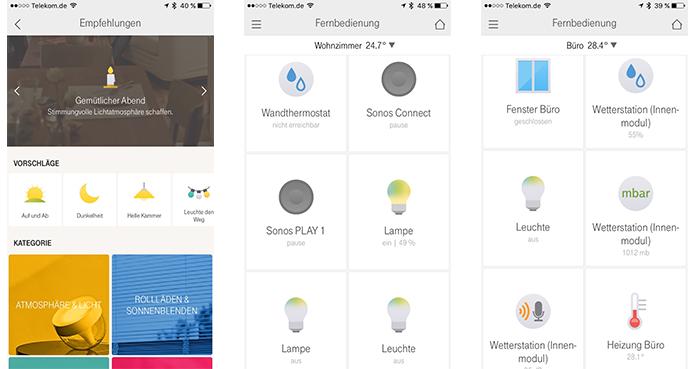 magenta-smarthome-app