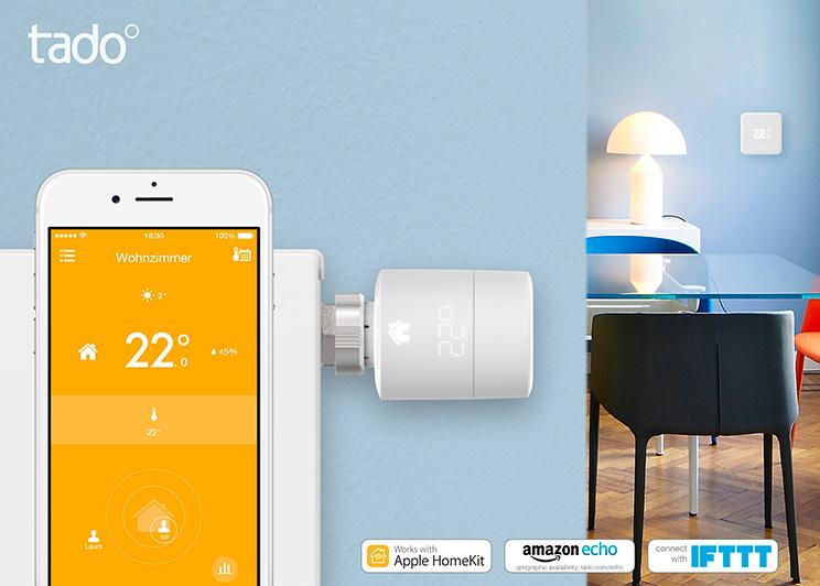 Tado Heizkörperthermostat und App