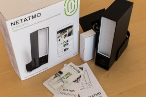 Netatmo Presence Test: Verpackungsinhalt