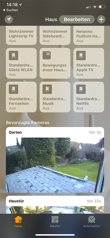 Netatmo Presence HomeKit Integration