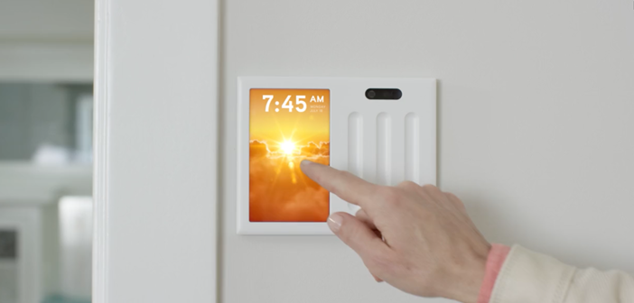 Brilliant Control: Ein Smart Home-Wandschalter mit Touchscreen