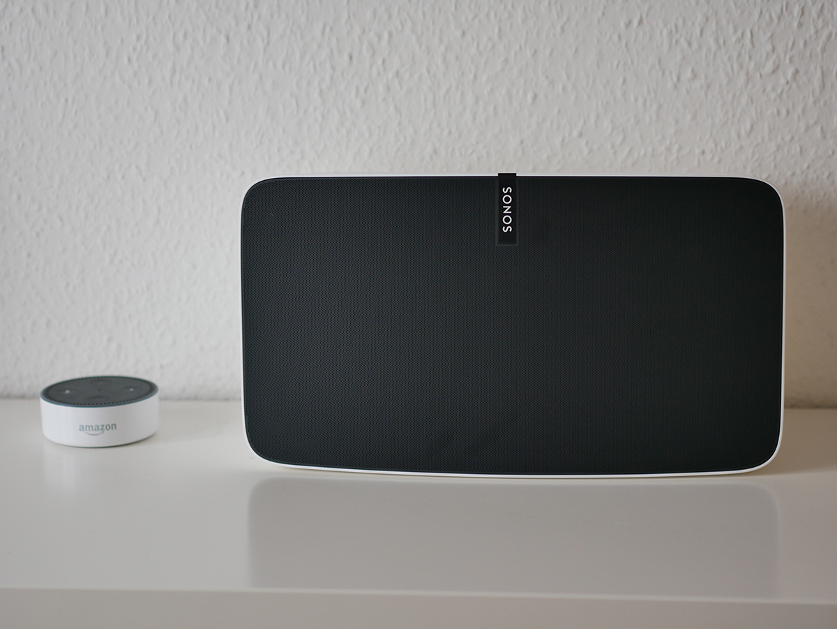Sonos Play:5 und Amazon Echo Dot