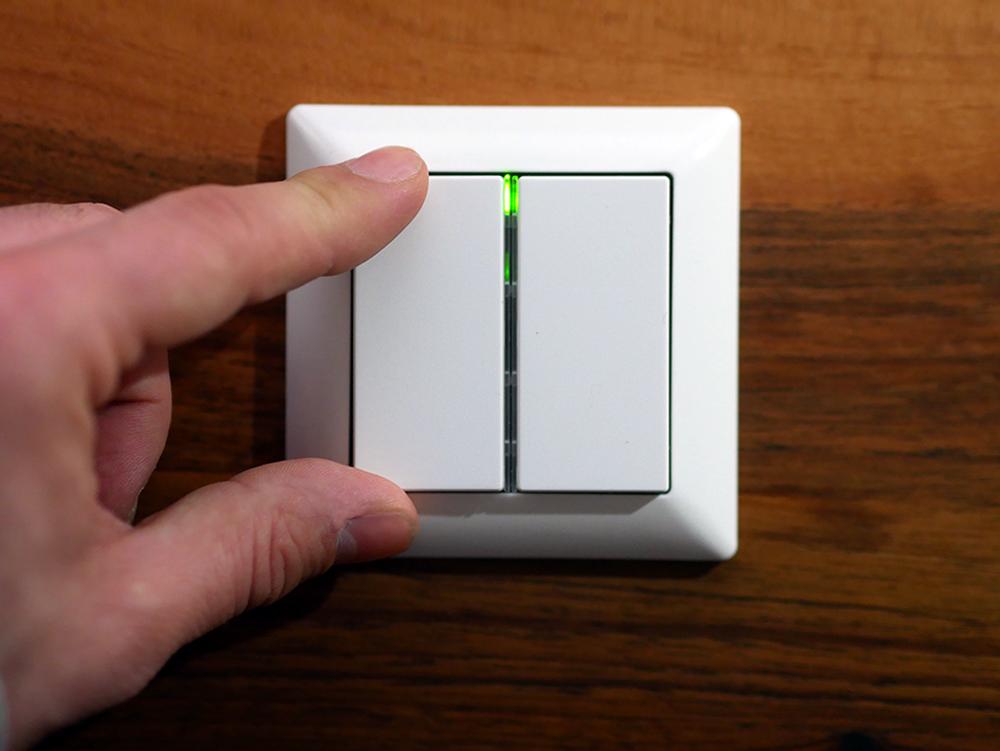 Lighting Switch von Dresden Elektronik: Philips Hue Lichtschalter im ...
