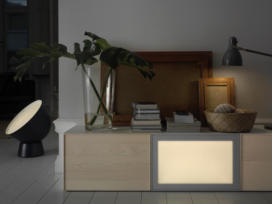 philips hue alternative ikeas smart lighting kollektion geht in den verkauf housecontrollers. Black Bedroom Furniture Sets. Home Design Ideas