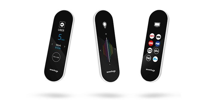 sevenhugs smart remote fernbedienung f r das smart home ab jetzt vorbestellbar housecontrollers. Black Bedroom Furniture Sets. Home Design Ideas