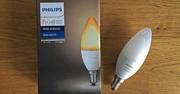 Philips Hue E14 white ambiance