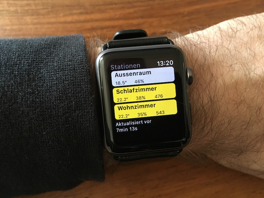 Comfort App: Netatmo für die Apple Watch