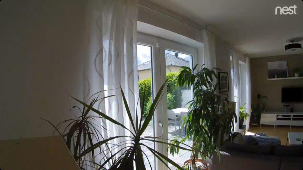 Google Nest Indoor - Beispielbild bei Tageslicht