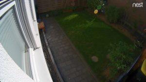 Nest Cam Outdoor - Beispielbild bei Tag