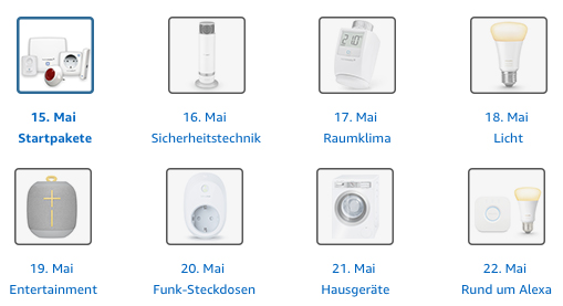 Smart Home günstig: Amazon Aktionswoche