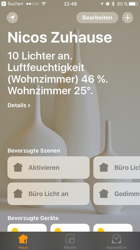 Apple HomeKit-kompatible Produkte - HouseControllers