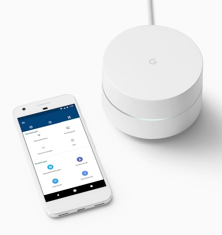 Google Wifi Smartphone App