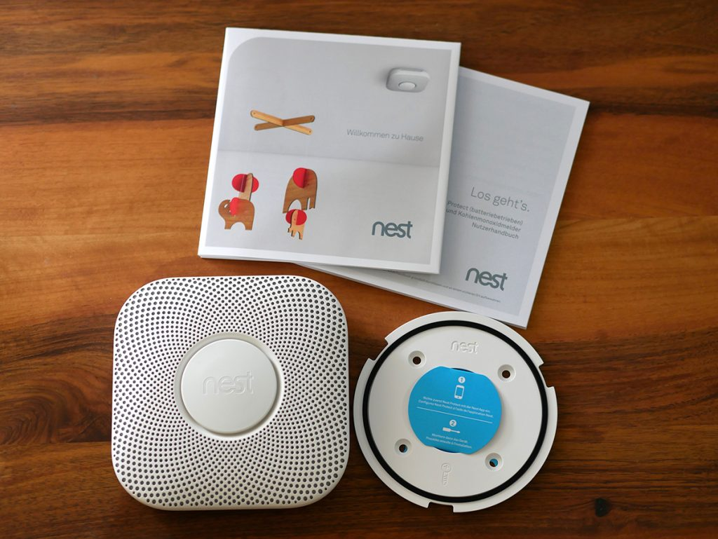 Nest Protect Lieferumfang
