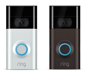 ring video doorbell 2 neue version der wlan t rklingel. Black Bedroom Furniture Sets. Home Design Ideas