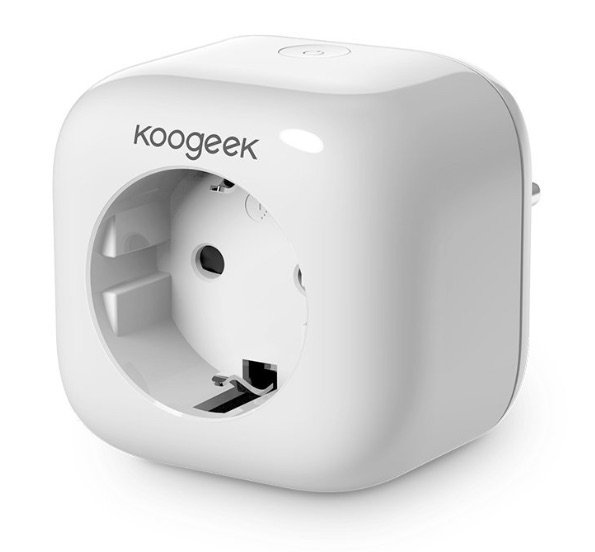 koogeek smart plug neue wlan steckdose mit homekit anbindung housecontrollers. Black Bedroom Furniture Sets. Home Design Ideas