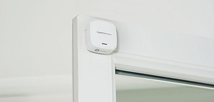 Alarmsystem Gigaset Elements: Neuer Sensor für Türen und Fenster