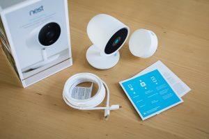 Nest Cam IQ Packungsinhalt