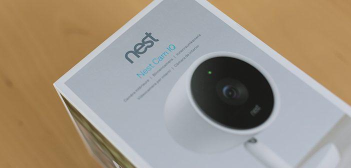 Nest CamIQ Indoor Überwachungskamera im Test