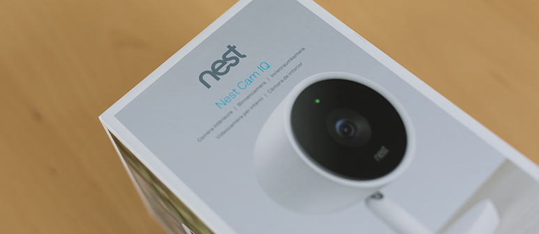 nest cam iq indoor berwachungskamera im test. Black Bedroom Furniture Sets. Home Design Ideas