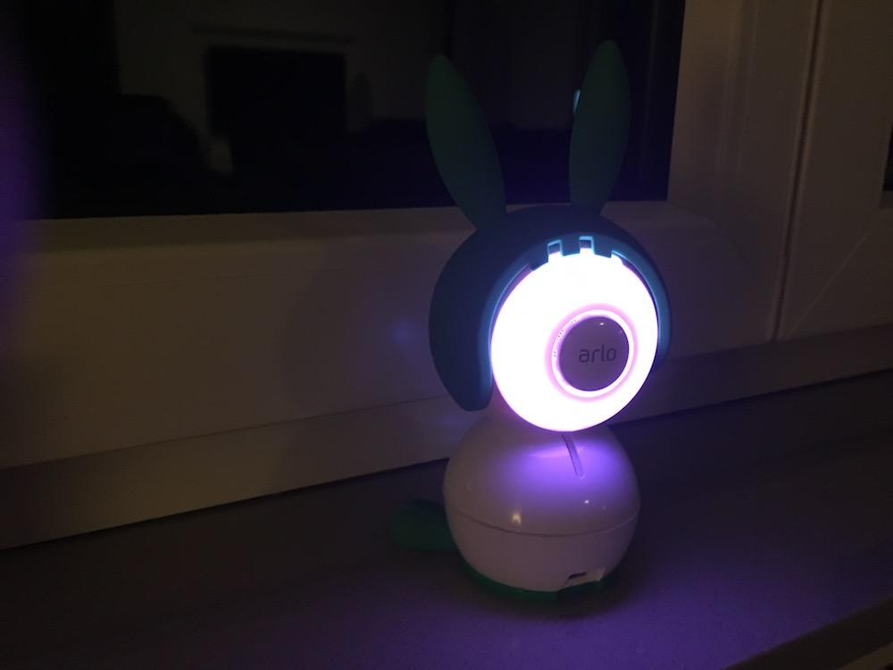 WLAN-Babyphone mit Nachtlicht