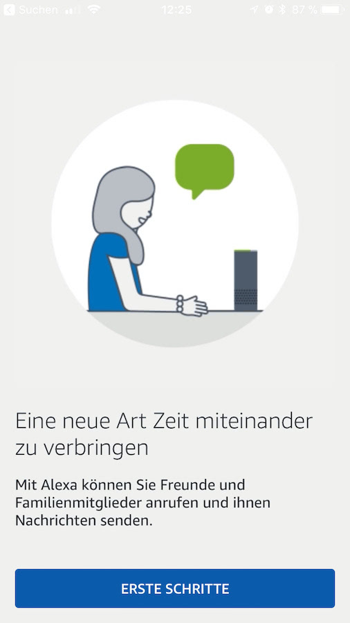 Alexa App Screenshot