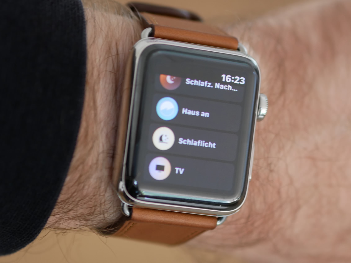 Philips Hue auf der Apple Watch