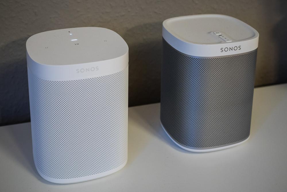 Sonos One und Sonos Play:1 im direkten Vergleich