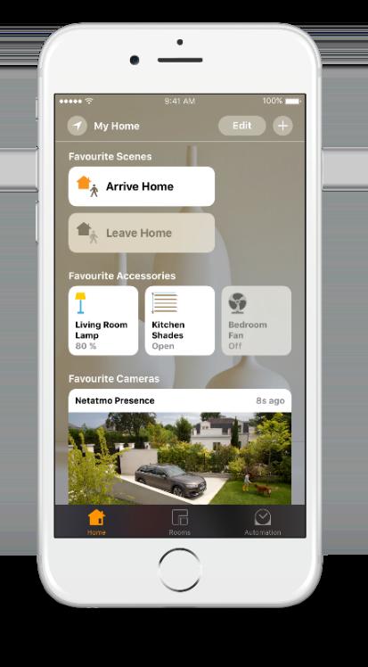 Überwachungskamera für Apple HomeKit