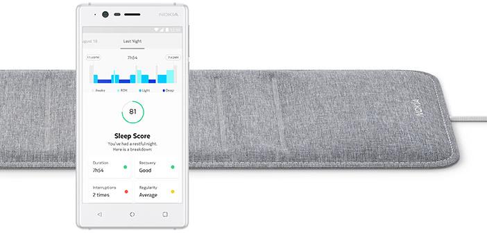 CES 2018: Nokia stellt IFTTT-kompatiblen Schlafsensor vor