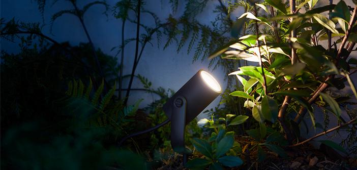 Philips Hue Gartenbeleuchtung