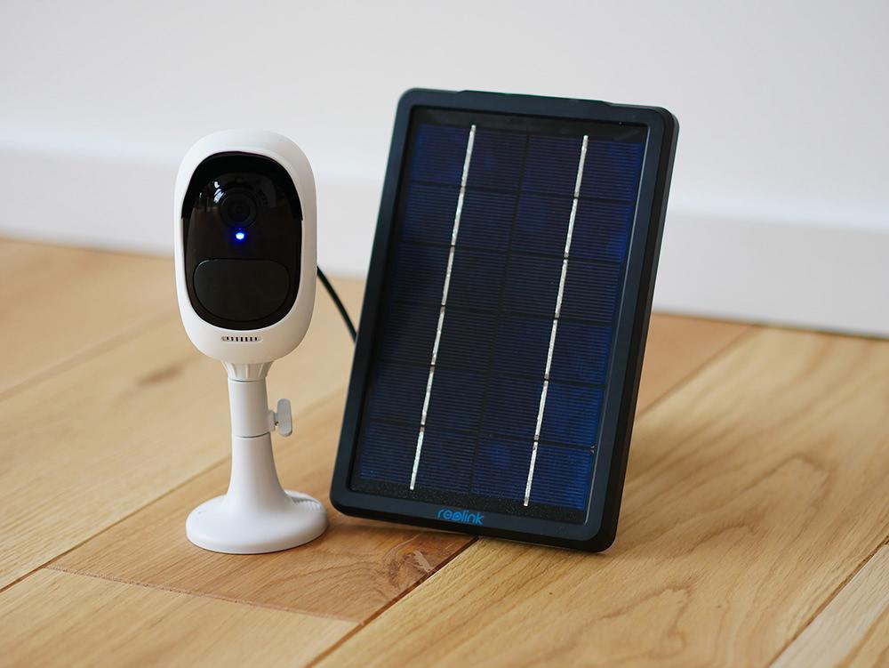 Reolink Argus 2 Überwachungskamera mit Solarpanel