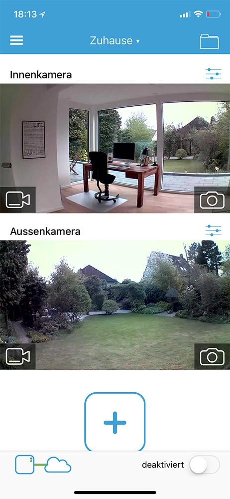 Ring Überwachungskamera
