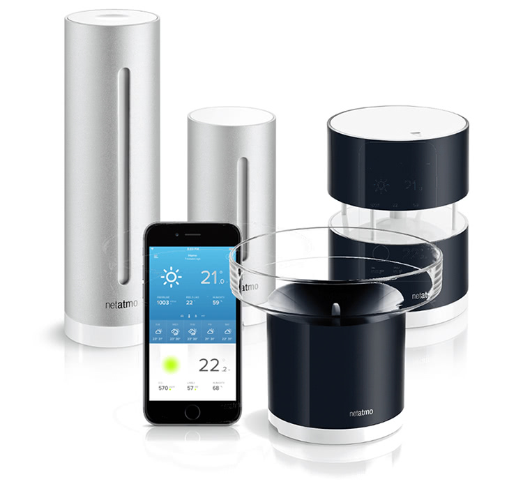 smart home deal netatmo wetterstation und zubeh r im angebot housecontrollers. Black Bedroom Furniture Sets. Home Design Ideas