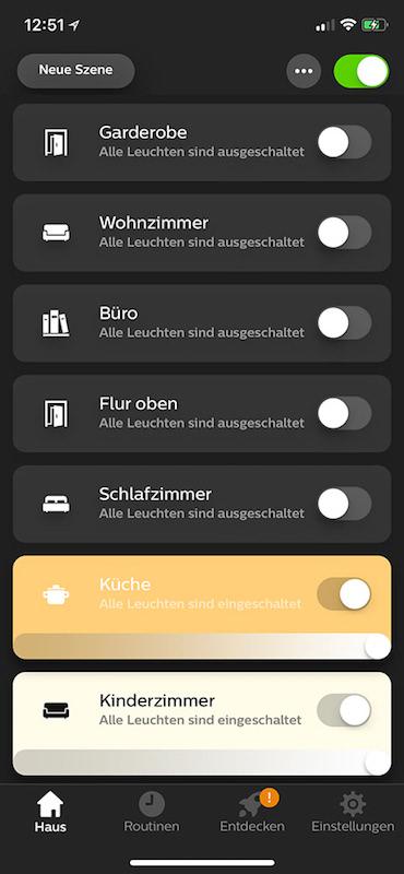 philips hue app 3 0 update steht zum download bereit housecontrollers. Black Bedroom Furniture Sets. Home Design Ideas
