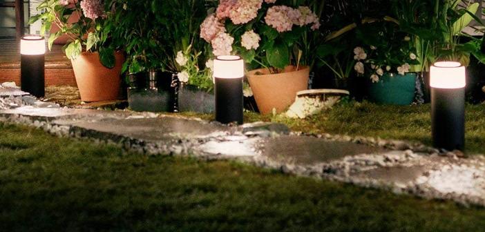 philips hue gartenbeleuchtung ab sofort erh ltlich housecontrollers. Black Bedroom Furniture Sets. Home Design Ideas