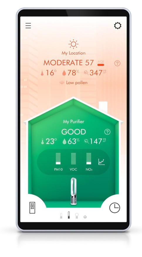 Ventilator mit App-Steuerung