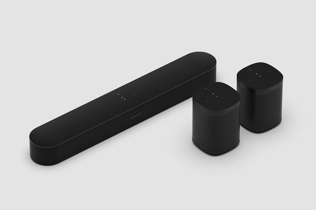 Sonos Beam und Sonos One