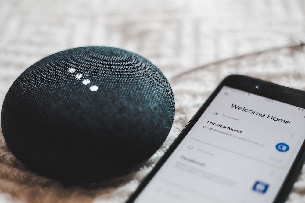 Smart Home Sprachsteuerung mit Google Home Mini