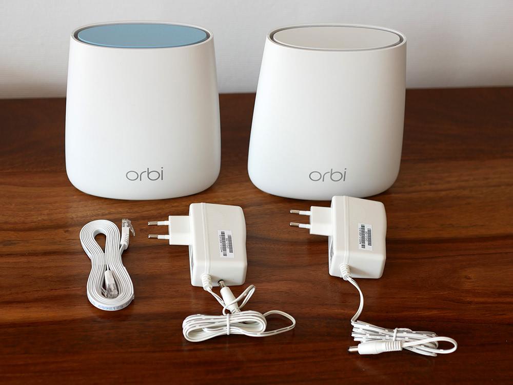 Netgear Orbi WLAN-Mesh System im Test