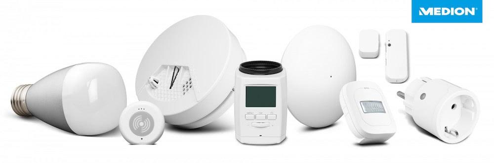 Smart Home Geräte von Medion