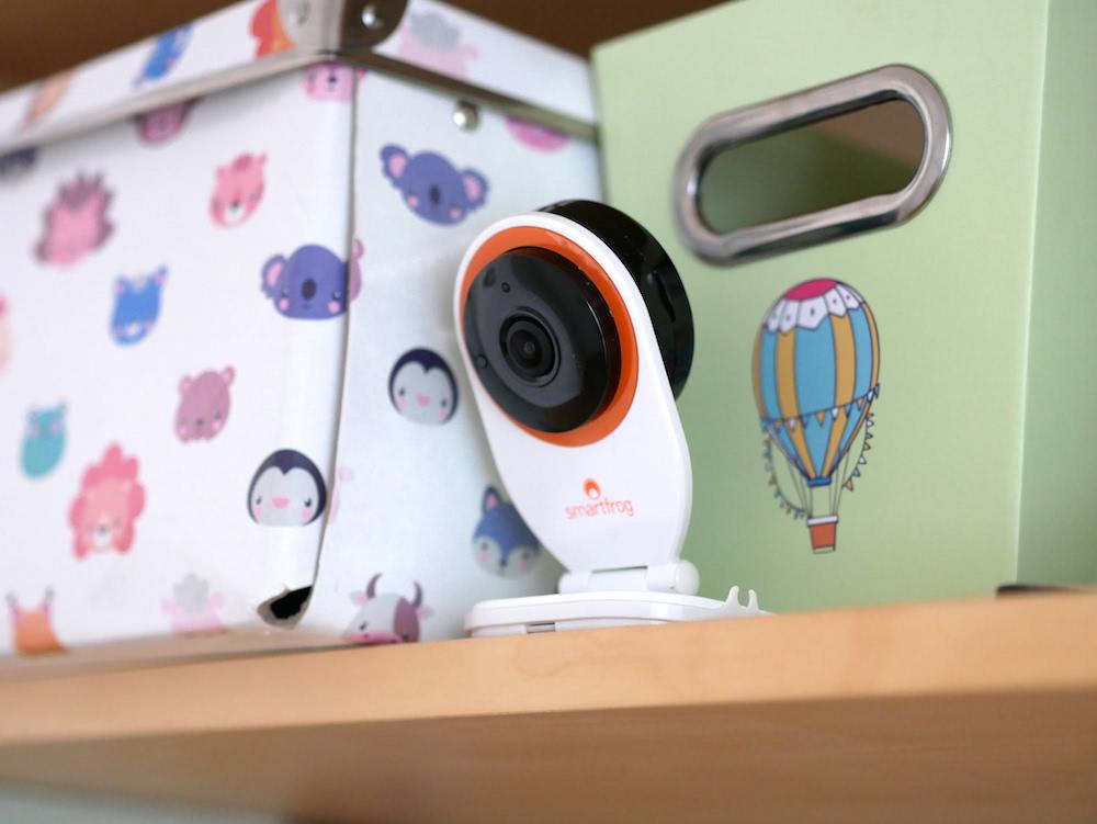 Smartfrog WLAN-Überwachungskamera
