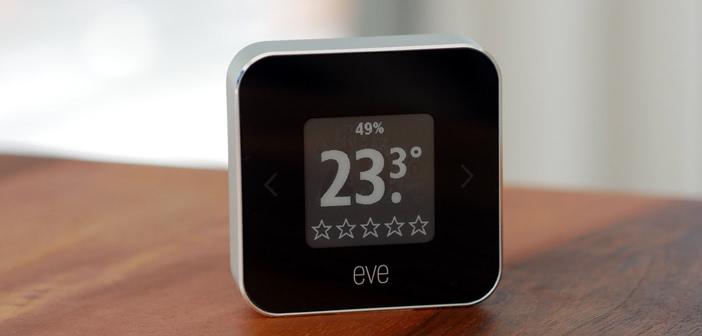 Eve Room (2018) im Test: HomeKit-Raumklimasensor mit E-Ink Display