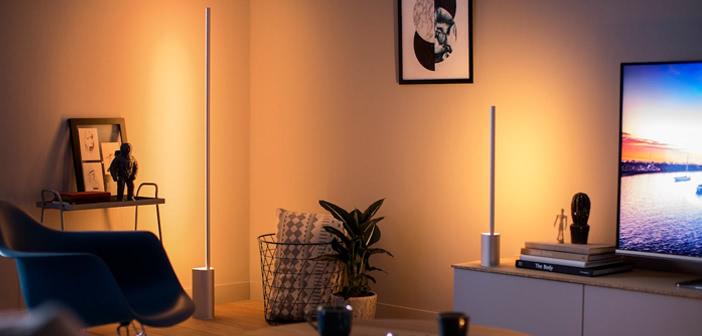 philips hue signe neue steh und tischleuchte ab sofort vorbestellbar housecontrollers. Black Bedroom Furniture Sets. Home Design Ideas