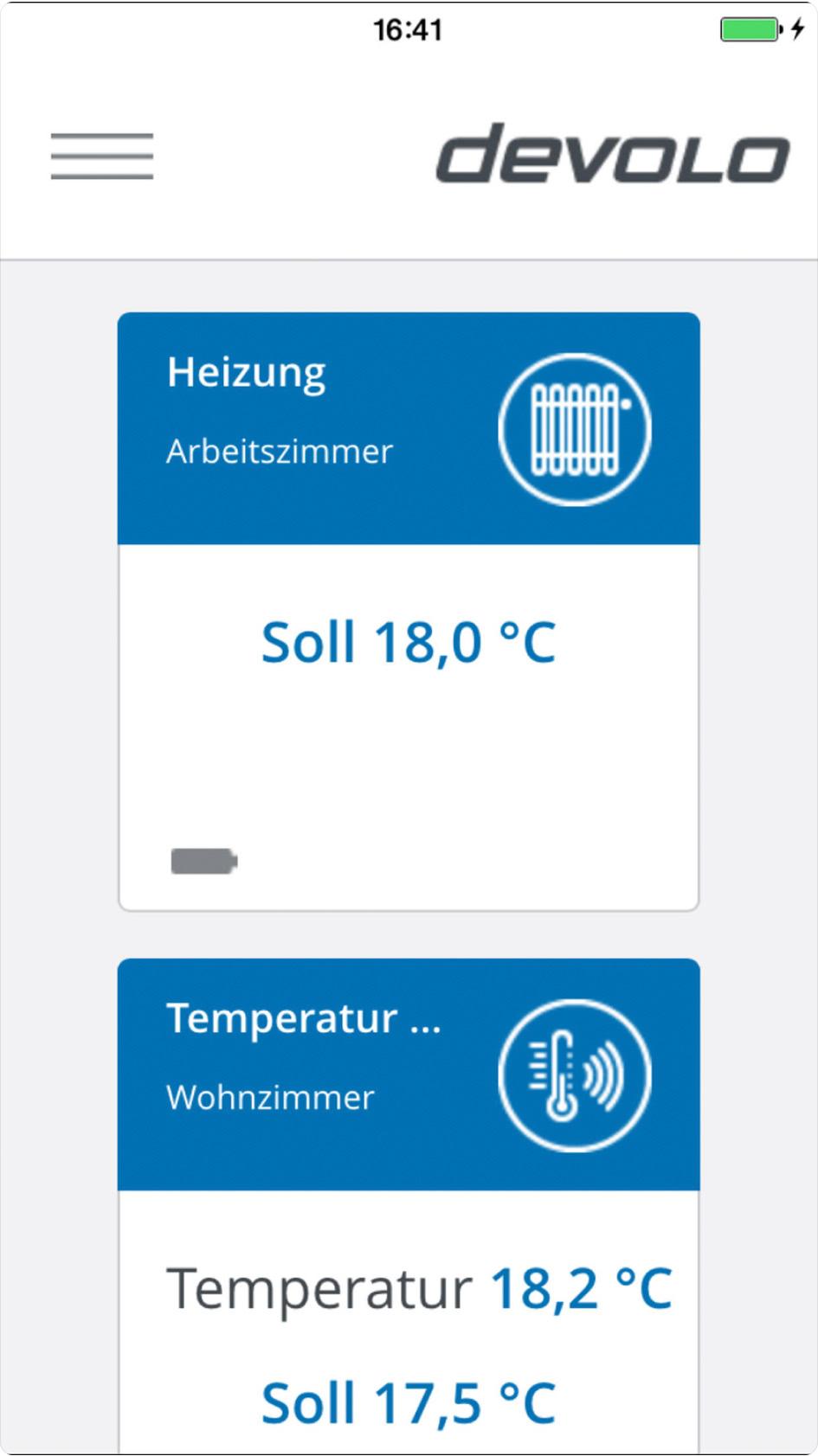 Smartes Thermostat per App steuern