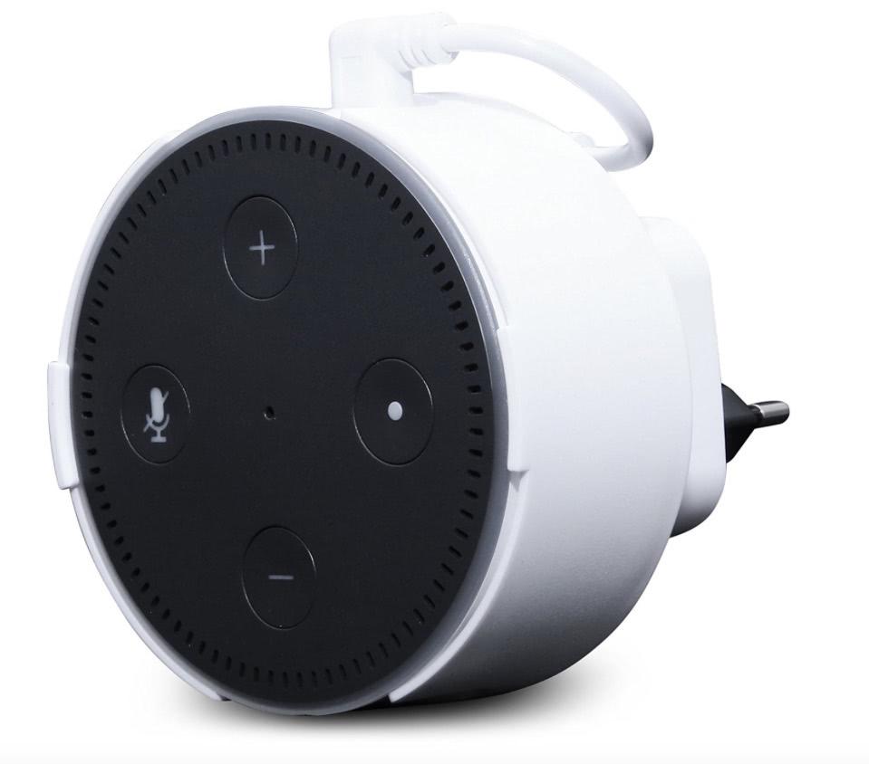 Echo Dot Steckdosenhalterung