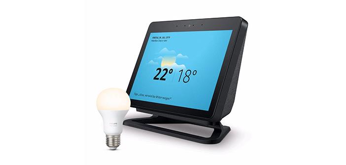 Smart Home Deals: Amazon Echo Show (aktuelle Generation) und Blink Überwachungssystem heute günstiger