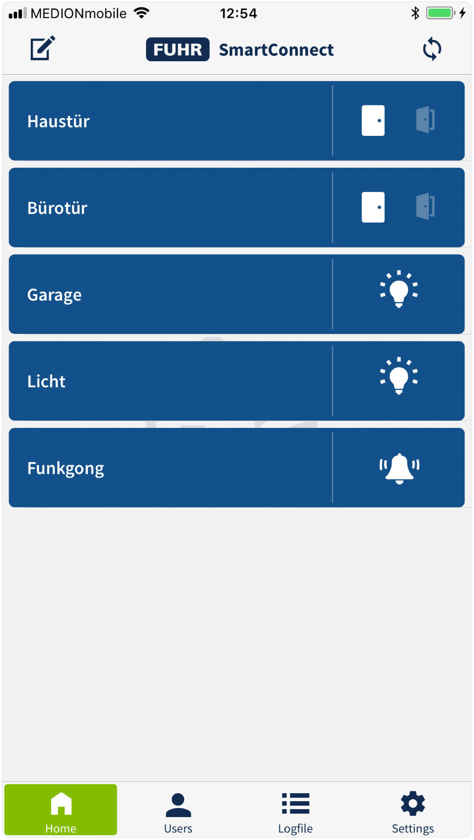 Fuhr SmartConenct Easy App